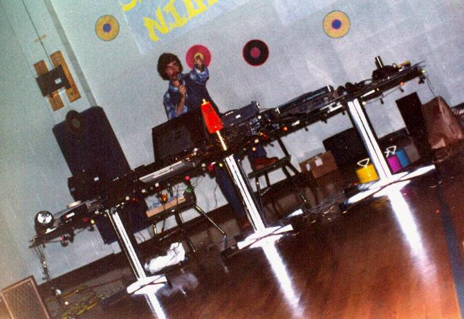 DJ Don Tilford at Gym at a School at a School Dance