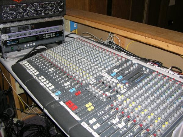 Large Sound Board for audio, American Sound Productions